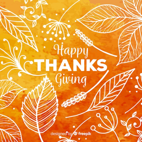What are we thankful for! Don't forget about Thank…