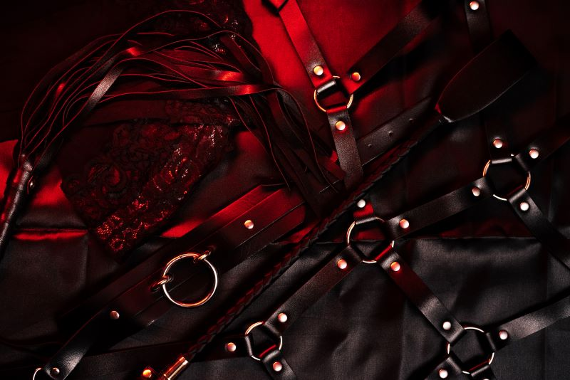 BDSM and leather gear and tools