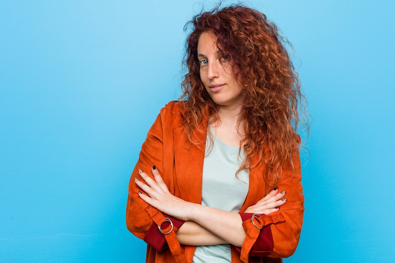 Red hair woman profile picture