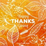 What are we thankful for! Don't forget about Thank...